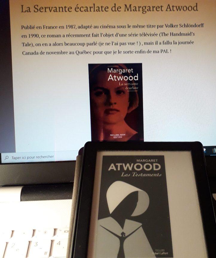 Les Testaments, Margaret Atwood, traduit de l'anglais (Canada) par Michèle Albaret-Maatsch (Robert Laffont, 2019)