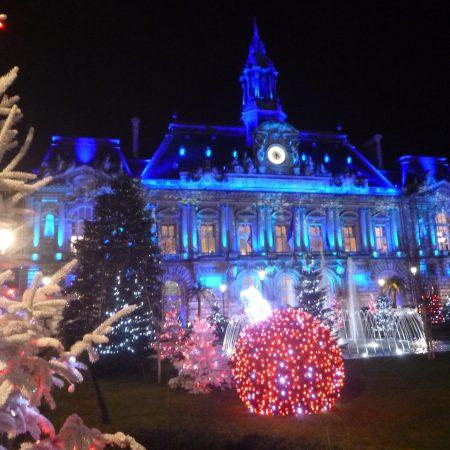 Illuminations de Noël à Tours