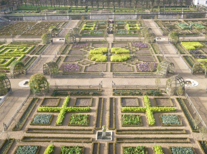 jardin château villandry hiver