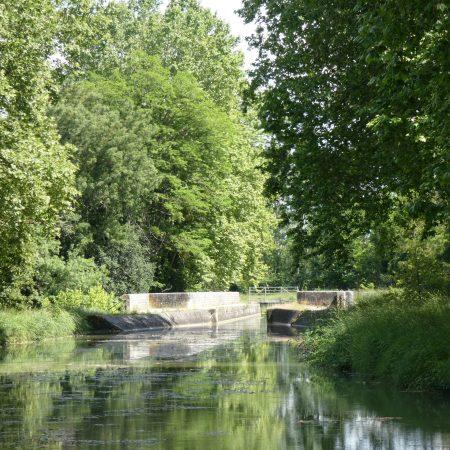 canal de berry pont canal sauldre