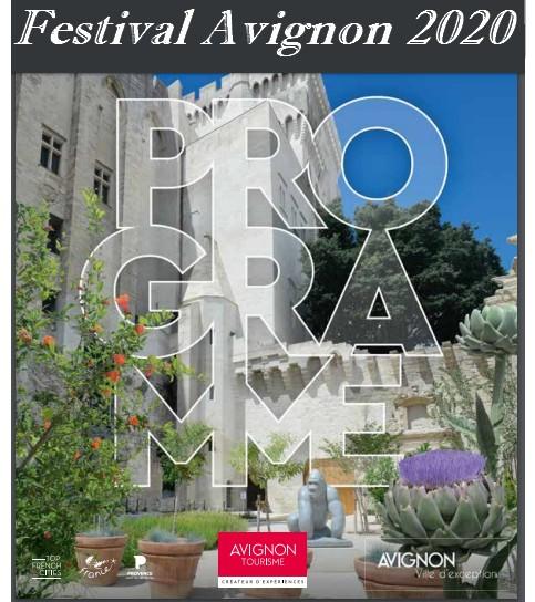 festival avignon 2020 juillet programme