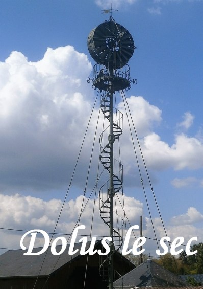 L'éolienne Bollée de dolus le sec en Touraine