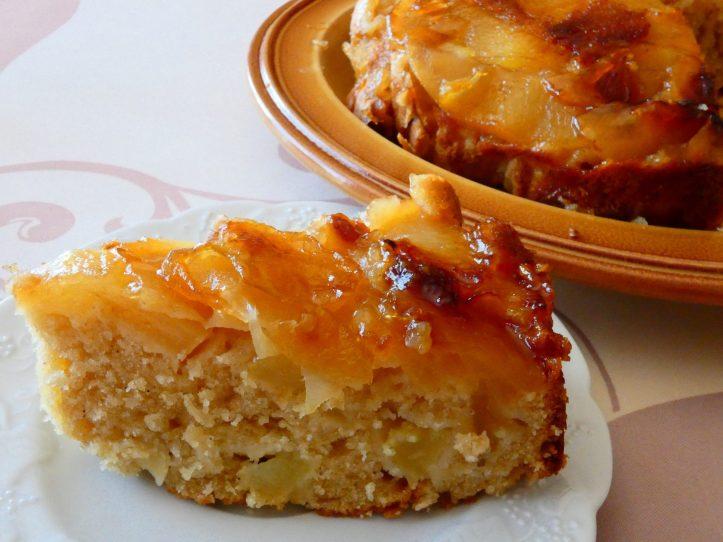 Gâteau pommes sirop érable
