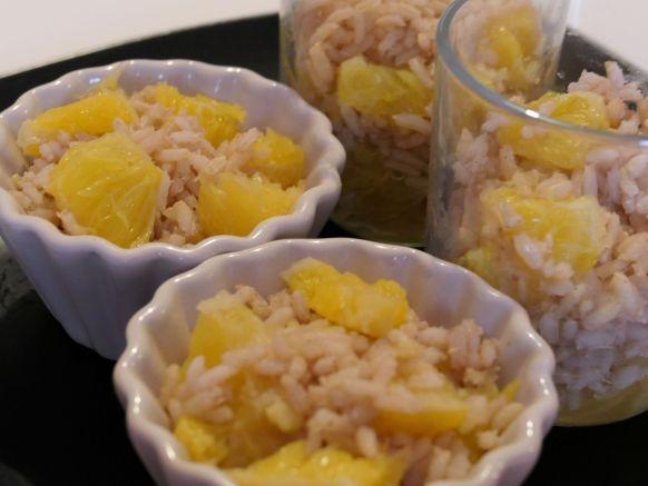 riz au lait suédois à l'orange
