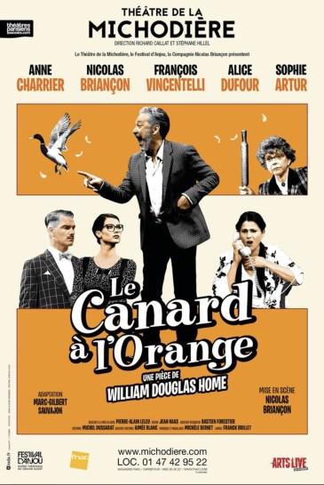 le canard à l'orange William Douglas-Home briançon