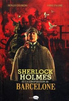 BD Sherlock Holmes et la conspiration de Barcelone