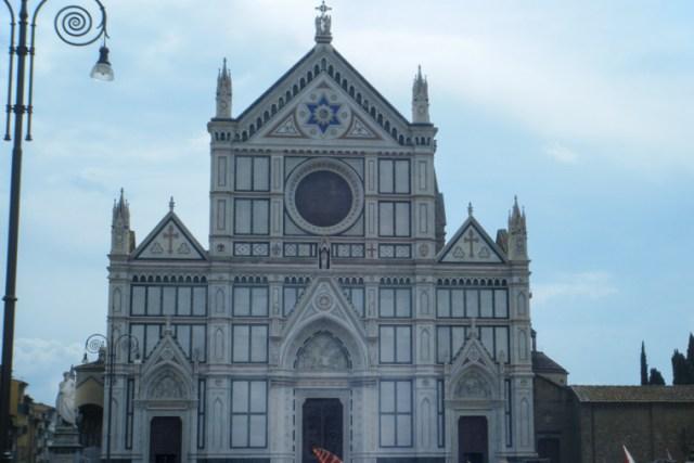 Visiter Florence Pise et Fiesole santa croce