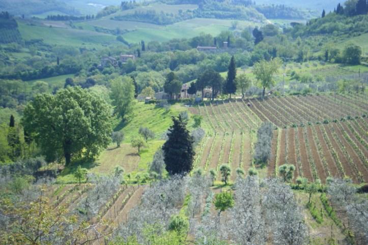 Visiter San Gimignano, toscane