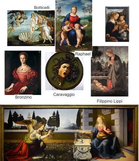 Visiter Florence galerie des offices