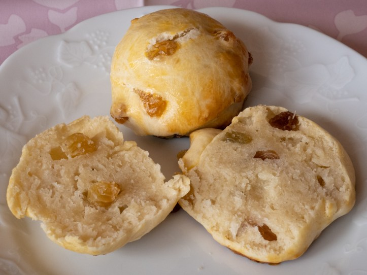 Recette des scones anglais aux raisins thé