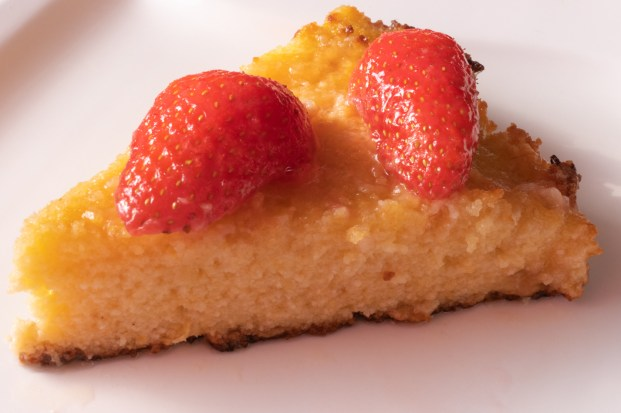 Recette de Lemon polenta cake anglais italien citron polenta