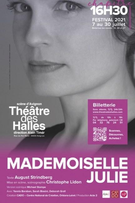 Mademoiselle Julie au festival d' Avignon