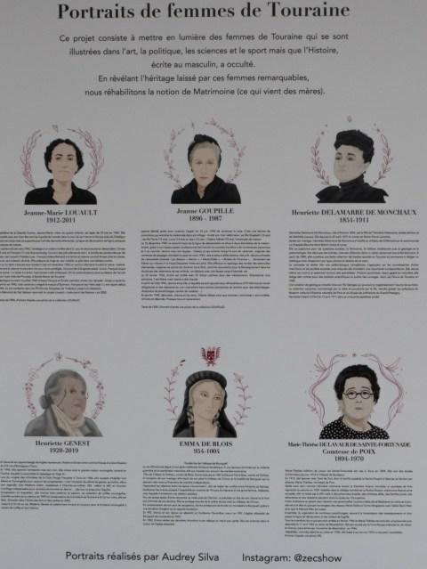 Illustres inconnues, portraits de femmes en Touraine résistantes