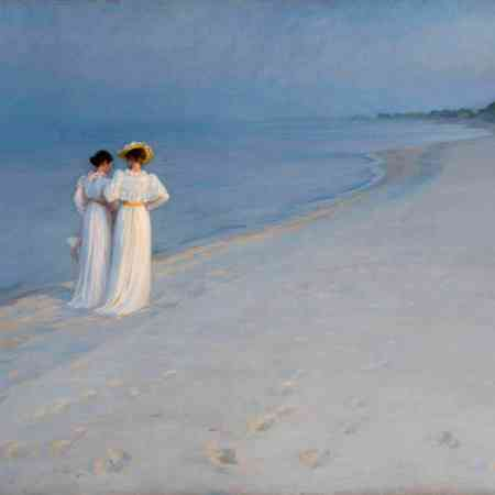 "ExpositionPeder Severin Krøyer ""L'heure bleue"" muséeMarmottan"