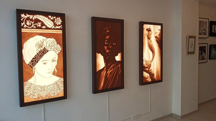 Lorène Bihorel galerie nemours