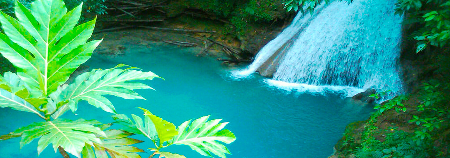 Blue Hole & Secret Falls