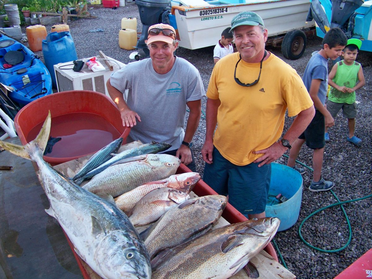 sport fishing Loreto BCS
