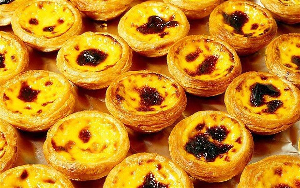 portuguese hawaii desserts flan custard pastry