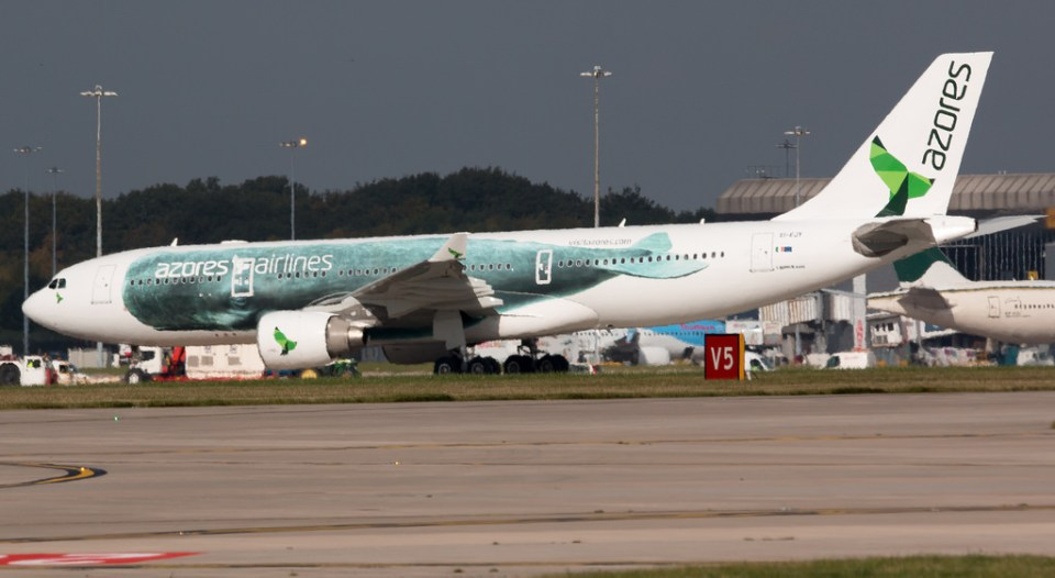 azores airlines 2021 summer plane covid