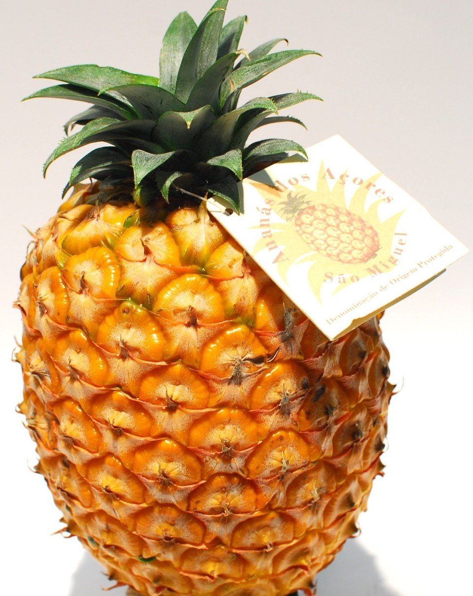 Azores Fruit Market Pineapple for Sale