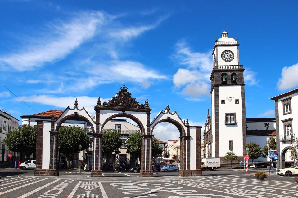 Portas Da Cidade (Gates To The City), Ponta Delgada, Sao Miguel