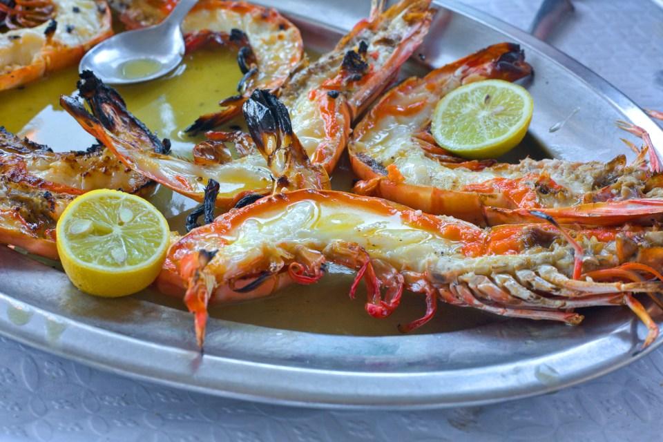 Lobster Seafood Restaurant Ponta Delgada Azores Island