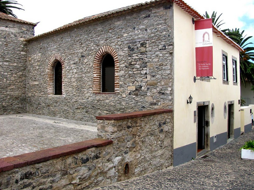 Christopher Columbus Museum and House in Portugal Madeira Island