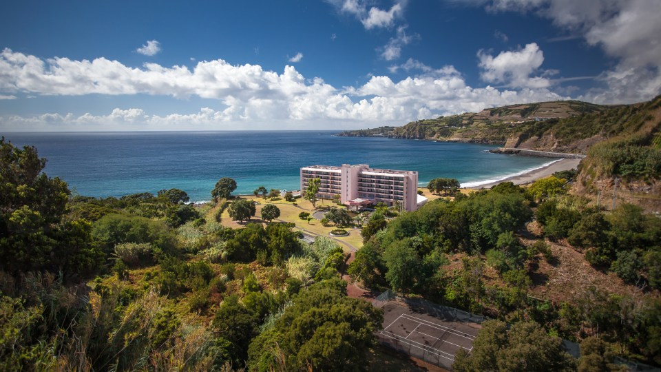 azores sao miguel ocean front hotel