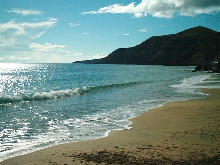 azores santa maria beach