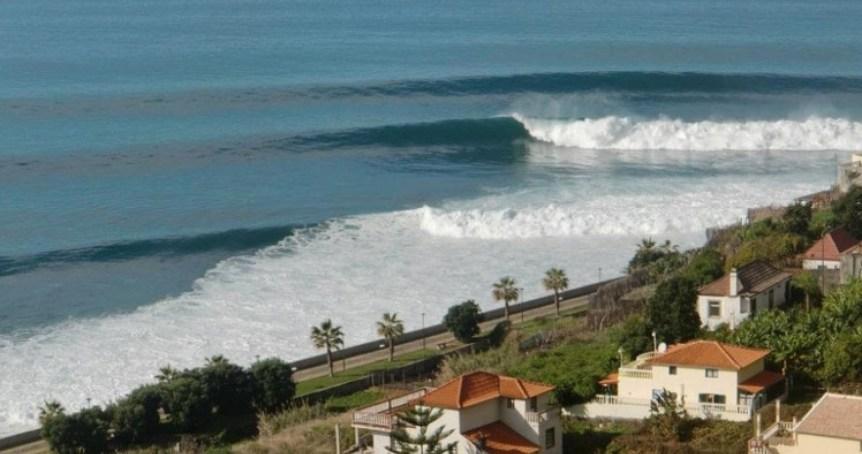 ocean view beach madeira island portugal