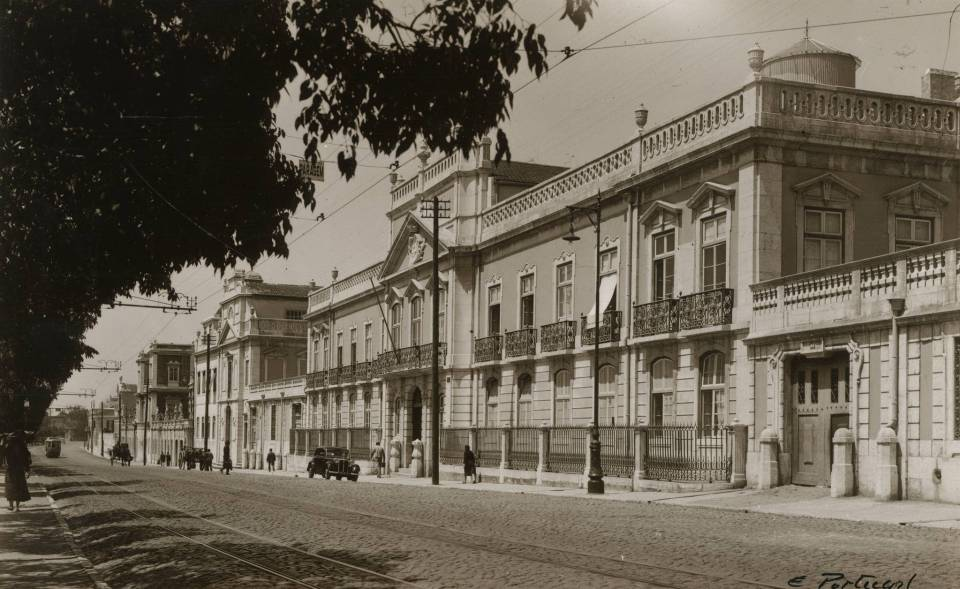 portugal palace lisbon azores family nobles