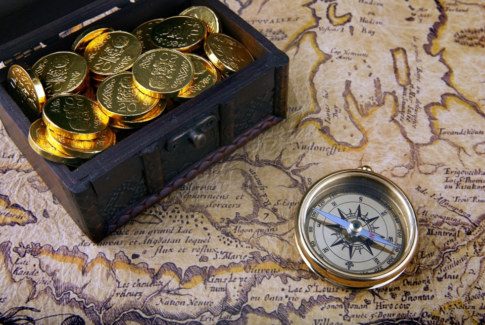 portugal gold pirate treasure off the Azores waters