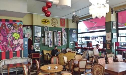 Visiting a very funky cafe in SoFo after a walking tour with us is an option if you are looking for things to do in Stockholm
