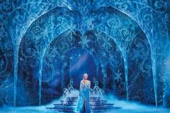 Caroline Bowman as Elsa in Frozen North American Tour - photo by Deen van Meer