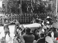 Oct. 5,1939 – Hitler on Victory Parade in Warsaw, source: fotopolska.eu