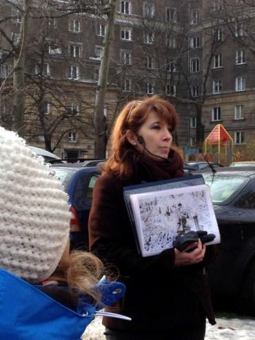 2014 - The Warsaw Ghetto tour