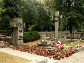 Katyn memorial, Powazki Military cemetery