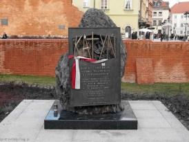 Katyn monument, Warsaw