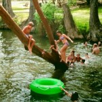 Summer Begins At Blue Hole in Wimberley