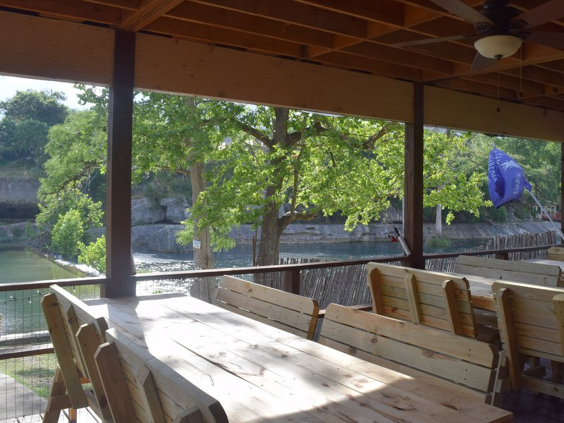 Chef Jay Events The Back Porch in Wimberley on Cypress Creek