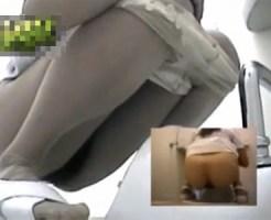 【女子トイレ盗撮動画】病院の個室便所に仕掛けた隠しカメラで現役ナースのオシッコを隠し撮りww