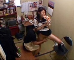 【JKレイプ隠撮動画】オナニーグッズを万引きした女子校生に極悪な制裁をする店長の隠しカメラ撮り映像…