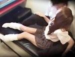 【SEX隠撮動画】監視カメラで完全に見られていることに気付かない女子校生カップルがネカフェでセックスww