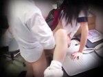 【JKレイプ盗撮動画】生意気な態度の女子校生に万引きGメンがマジギレして中出しする様子を隠しカメラ撮り…