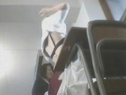 【JK着替え盗撮動画】イジメられていた女子校生のリベンジポルノ…教室で着替えるイジメっ子を隠し撮りww