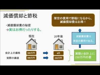 減価償却費と節税~不動産投資基本編2-5~