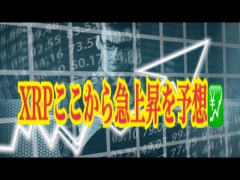 【仮想通貨】リップル最新情報‼️ XRPここから急上昇を予想💹