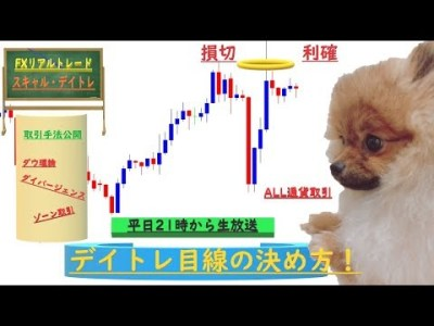 【FXトレードライブ】 スキャルピング・デイトレード155日目