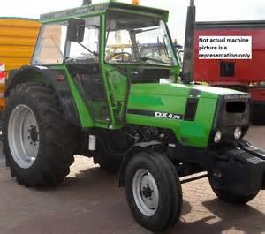 tracteur Deutz-Fahr 4.70