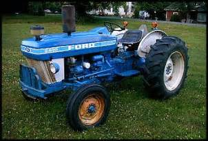 tracteur Ford 2610